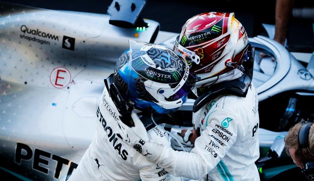 Valtteri Bottas i Lewis Hamilton