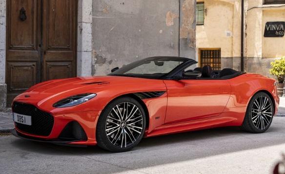Aston Martin DBS Superleggera Volante: $335.000 (EST)