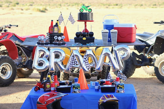 LAURA'S little PARTY: Dirt bike party ideas - dirt never looked so fun