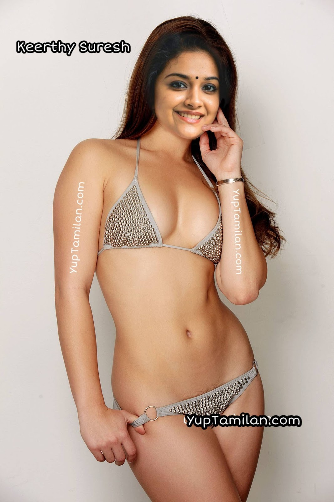 Keerthy Suresh sexy fake edited picture in Lingerie