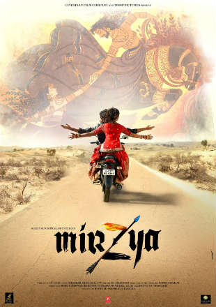 Mirzya (2016) Full Hindi HDRip 720p 1Gb Free Watch Online