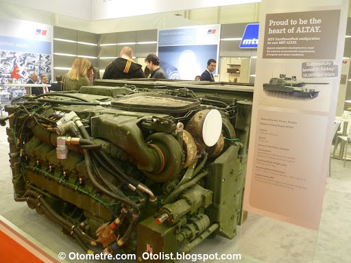 Otometre Otomobil Blogu Haberler Yeni Modeller Yerli Tank Altay In Motoru Mtu Olmazsa Ne Olacak