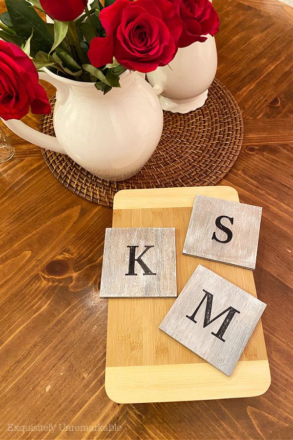 Wooden Floor Sample Coasters