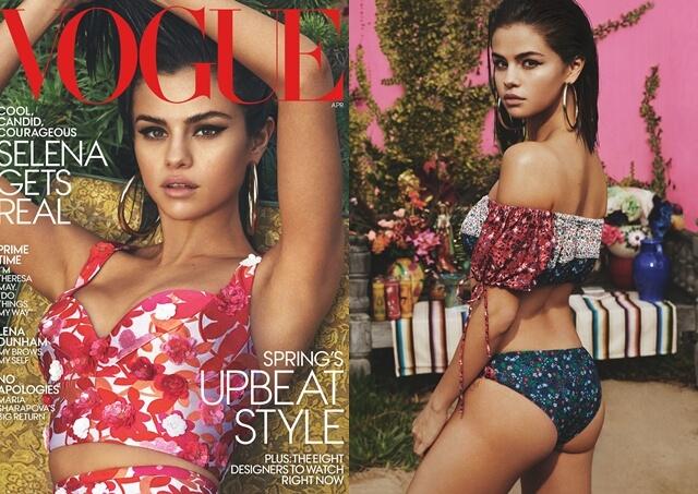 セレーナ・ゴメス(Selena Gomez)ファッション誌「ヴォーグ/Vogue」US版2月号のカバーガールに。