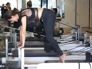 Alessandra Ambrosio At Gym Pilates Class In Santa Monica