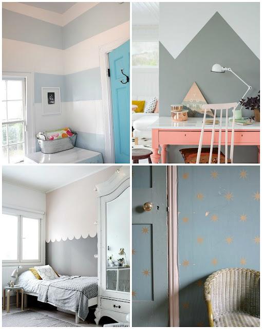 ideas diy pintura paredes formas