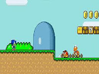 ΠΑΙΞΕ ΤΩΡΑ SONIC IN MARIO WORLD / PLAY NOW