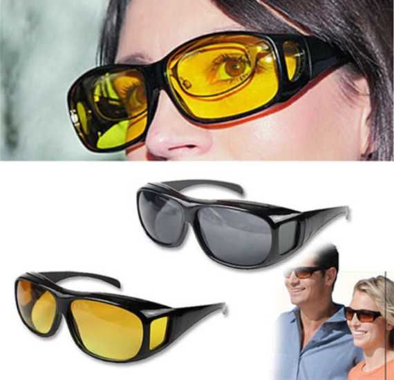 Car Driving Night Vision Glasses UV400 Protection HD Polarized Unisex