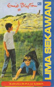 Review Novel Lima Sekawan 6 : Rahasia di Pulau Kirrin