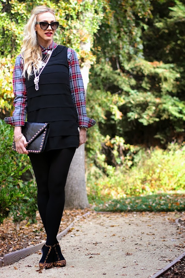LBD and Plaid and Leopard