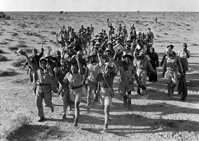 La Légion étrangère battit en retraite de Bir Hakeim sans lourdes pertes