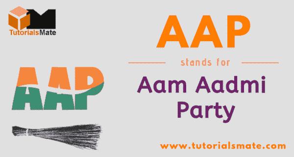 AAP Full Form