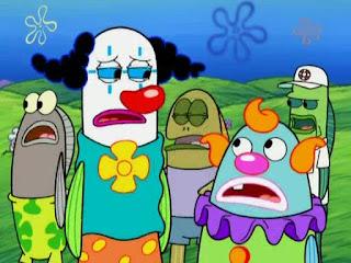Polosan meme badut / clown 20 - sekumpulan badut di bikini bottom