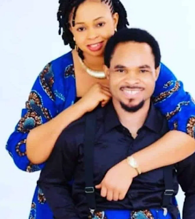 Prophet Odumeje (Indaboski) and his wife in a photoshoot