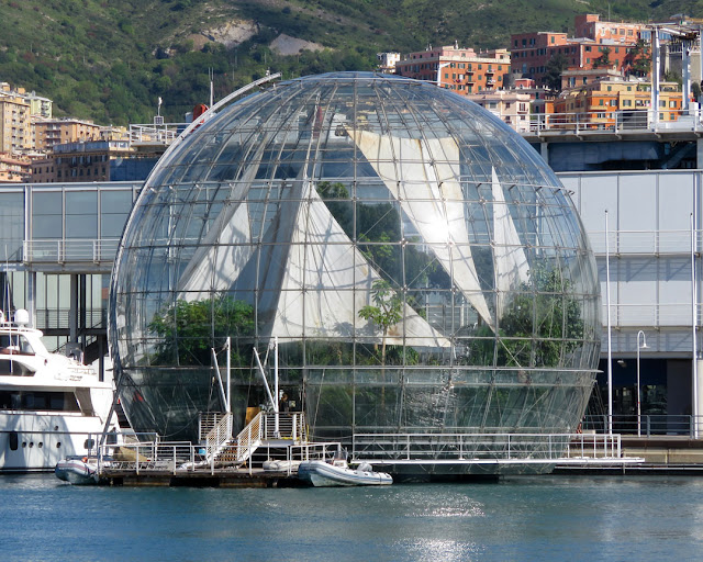 Biosfera (Biosphere) by Renzo Piano, Ponte Spinola, Porto Antico, Genoa