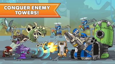 Download Game Mod terbaru Tower Conquest MOD APK (Unlimited money) Offline