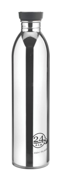 Nayasa 24 by 7 Vacuum Flask 1000 ml (Black)
