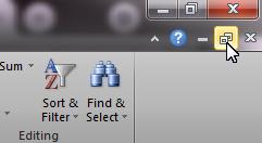 cara menampilkan 2 file excel dalam 1 layar