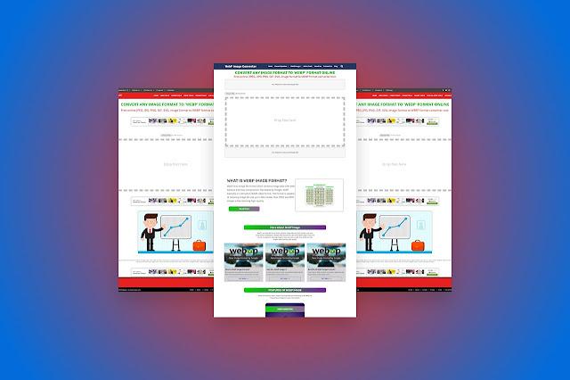Advance WebP Image Converter Blogger Script