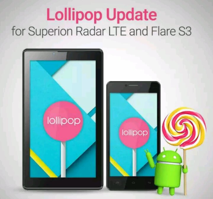 Cherry Mobile Superion Radar LTE Lollipop update now available