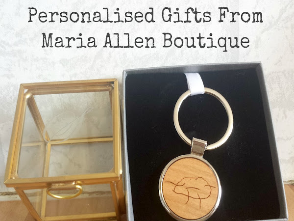 Personalised Gifts From Maria Allen Boutique {Review}