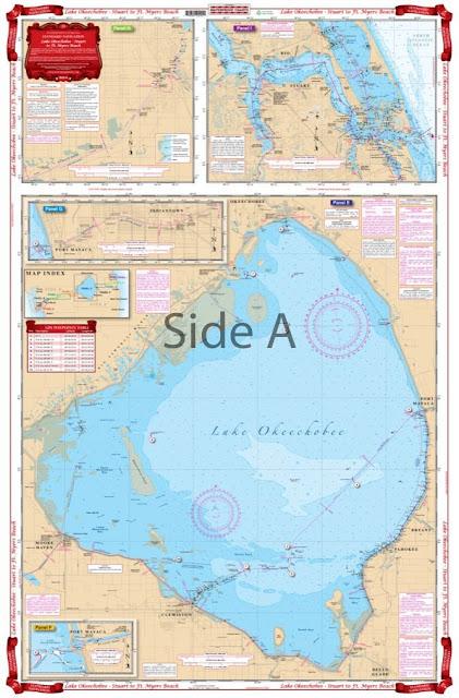 Lake Okeechobee Waterproof Chart
