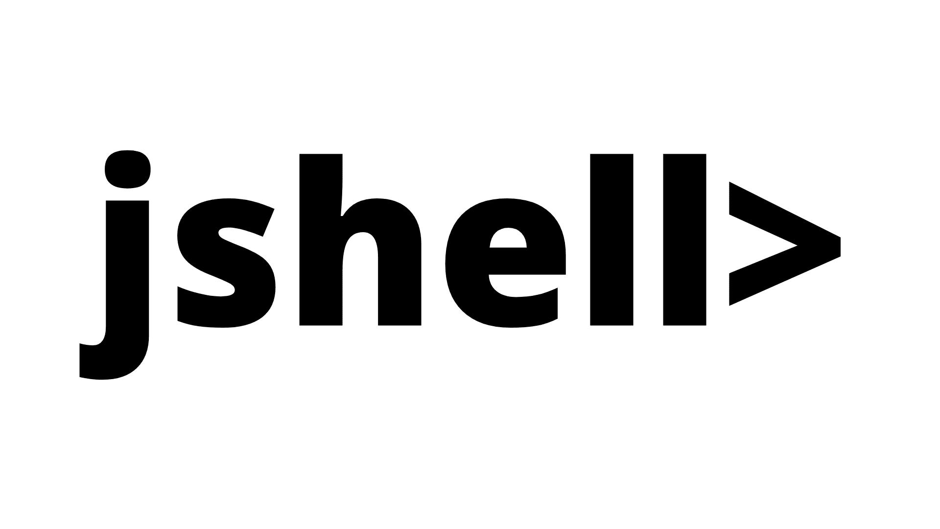 jshell tutorial