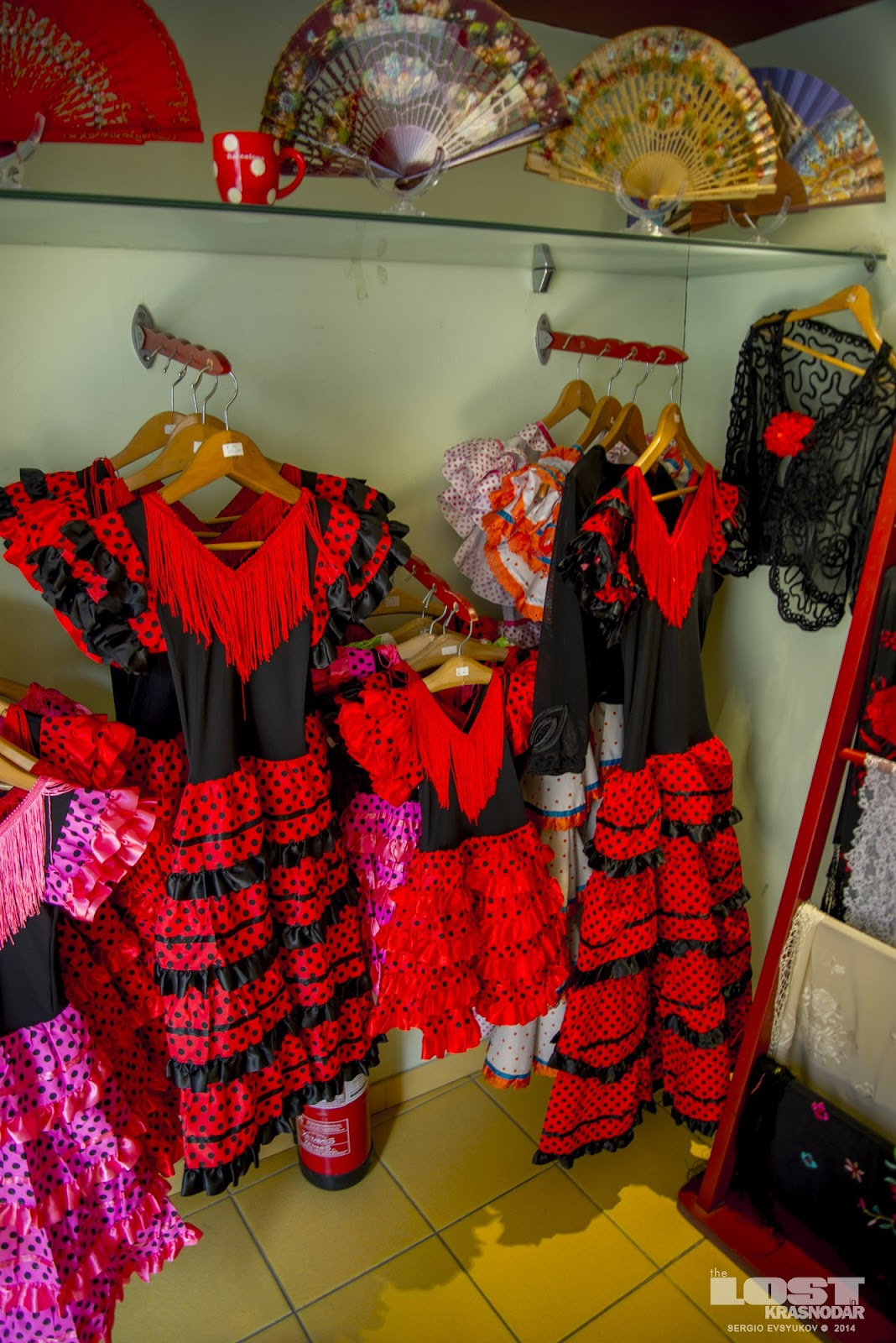 flamenco dress in spain