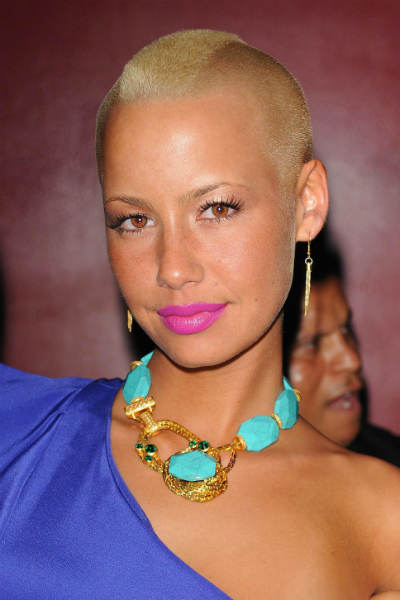 Excellent Cool And Cool Amber Rose New Hairstyle Short Hairstyles Gunalazisus