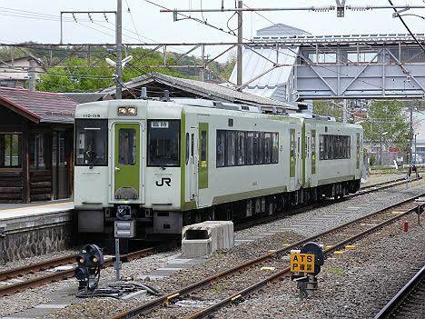 【ダイヤ改正で新設】八ケ岳高原列車5号 ワンマン快速中込行き キハ110形