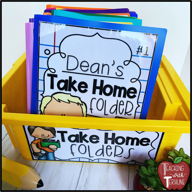 Take Home Folder Basket