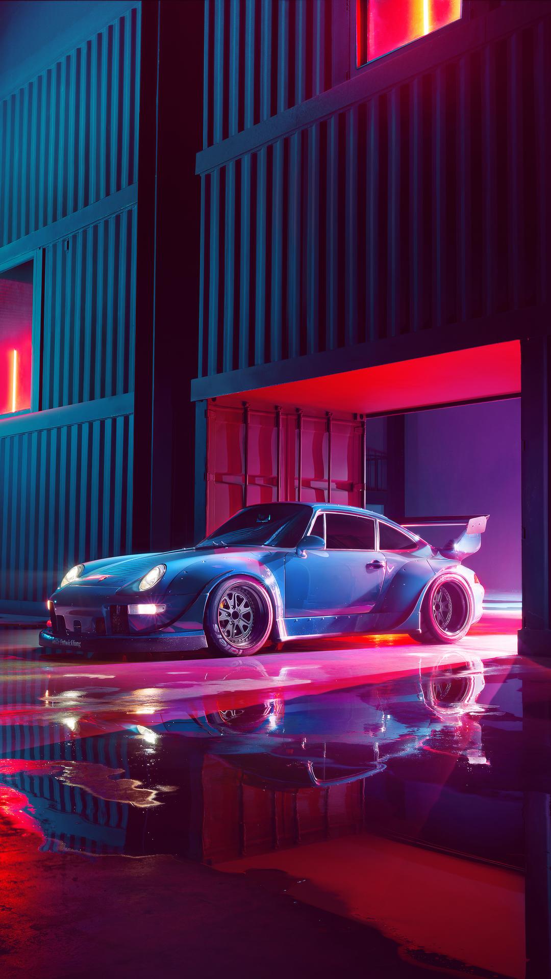 Wallpaper 4k Porsche Rwb