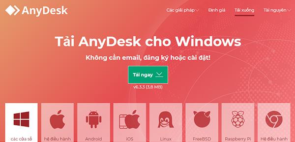 Tải AnyDesk Remote Desktop bản mới nhất cho Android, Windows c