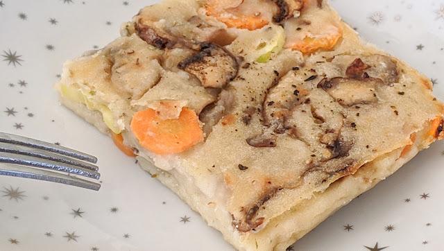 recette, omelette, sans oeufs, fait en 2 minutes