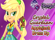 Legend of Everfree Crystal Guardian Applejack