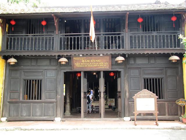museum folklore hoi an vietnam