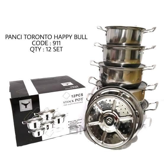 PANCI TORONTO HAPPY BULL 12 SET