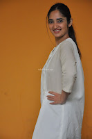 Radhika Cute Young New Actress in White Long Transparent Kurta ~  Exclusive Celebrities Galleries 077.JPG