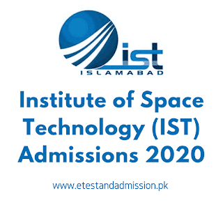 IST Admissions 2020