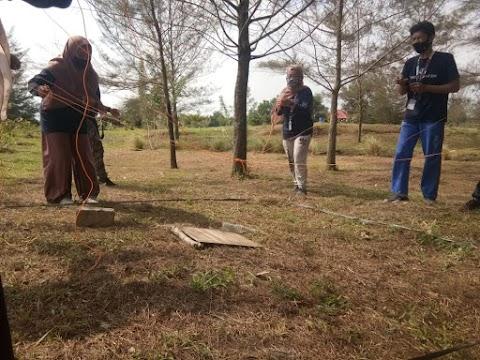 Dokumentasi Outbound Training Tinskubator Star Up Milenial