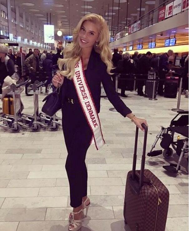 Miss Denmark Christina Mikkelsen