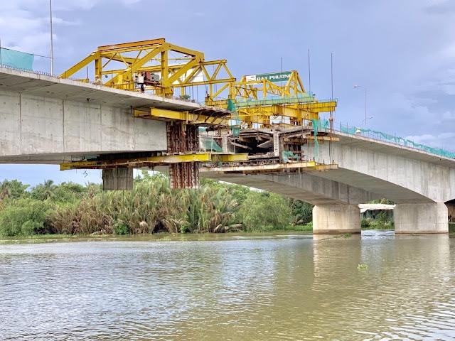 Cuối tháng 8 hợp long cầu Tân An