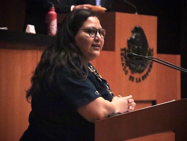 Un desafío, lograr flujos migratarios ordenados y seguros: senadora Citlalli Hernández