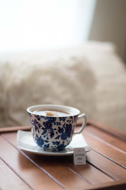 Un bon thé chaud, un plaid tout doux, détendez vous!