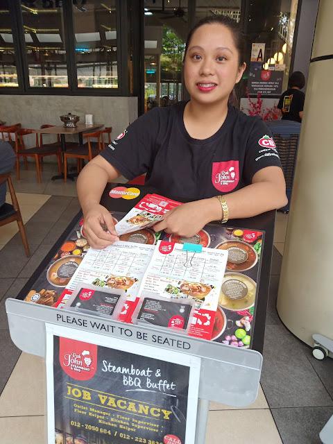 Pak John Steamboat & BBQ IOI City Mall Putrajaya Menepati Citarasa Kami Sekeluarga