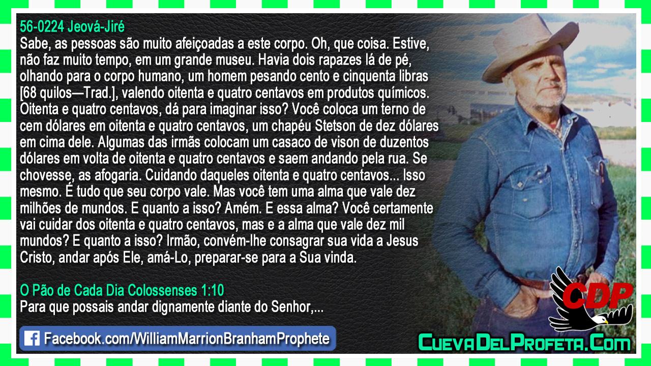 Uma alma que vale dez milhões de mundos - William Marrion Branham