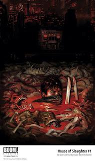 Primer vistazo a BOOM!: House of Slaughter.