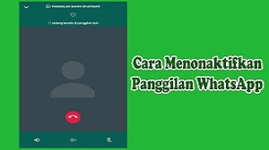Cara Menonaktifkan Panggilan Whatsapp Di Android Dan Iphone Tanpa Aplikasi 2021 Cara1001