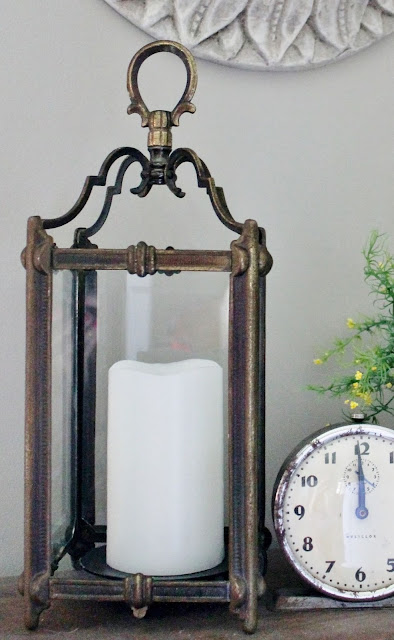 Upcycle a Light Fixture into a Lantern