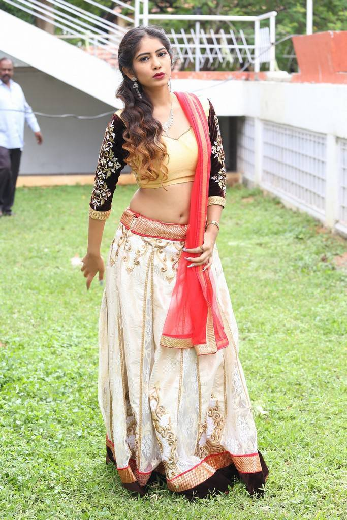 Amrutha At Prabhas Movie Launch Event Gallery